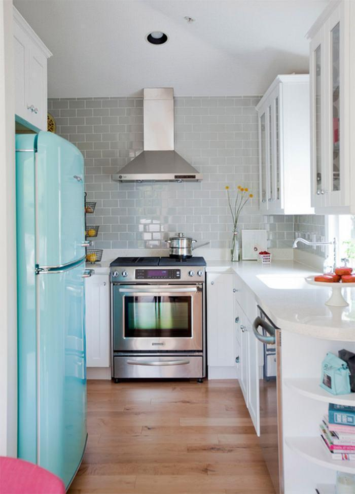 Kitchen with light tones