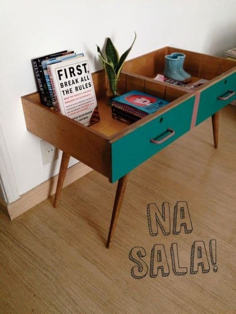 Reusing the drawers