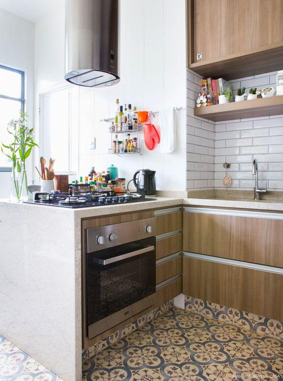 Subway tiles for small kitchen